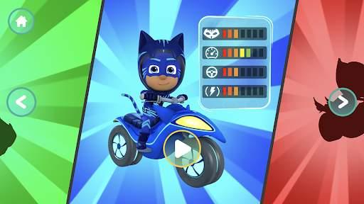 eroi hacksusa carrera pyjamasques volant pjmasks đuổi xe appstore héroes gamebass